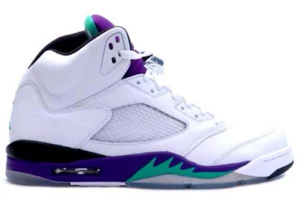 shoes jordans white purple green