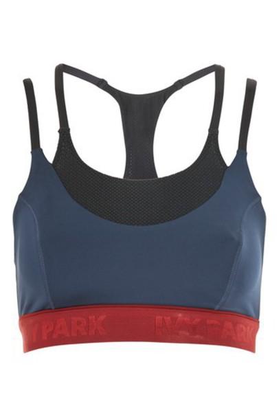 Topshop navy underwear