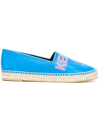 paris espadrilles blue shoes