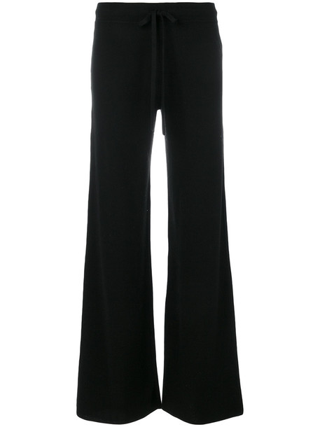 PRINGLE OF SCOTLAND women black pants