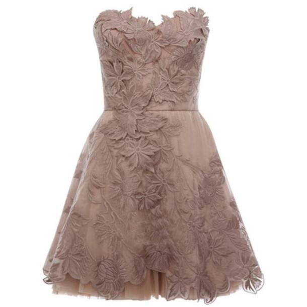 dress prom bridesmaid sweetheart dress cute dress graduation dresses formal dress grey dress lace dress texture
