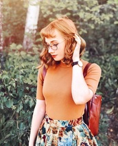shirt,orange,rust,autumn/winter,sweater,fall outfits
