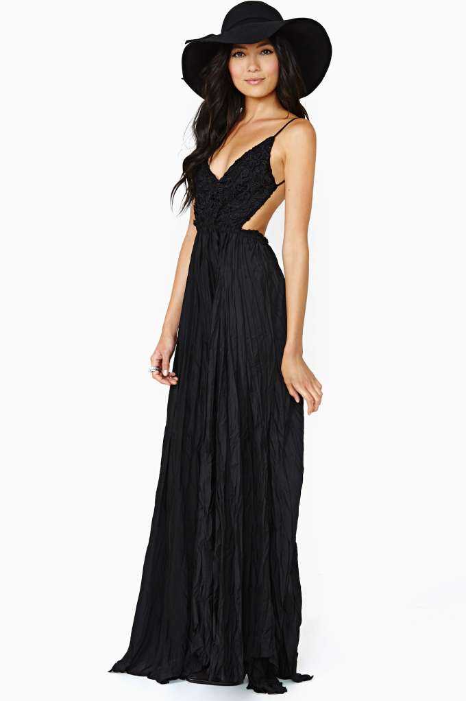 Edge Of Eternity Maxi  in  Clothes Dresses at Nasty Gal