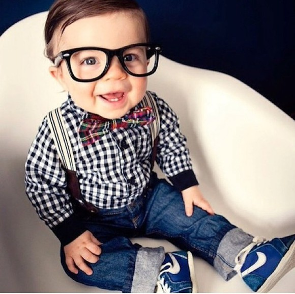 guys kids fashion sunglasses baby babies hipster hipster glasses bowtie suspenders