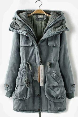 jacket green fall outfits fall jacket long jacket trench coat cozy coat petrol