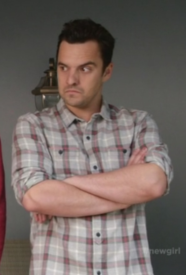new girl jake johnson shirt