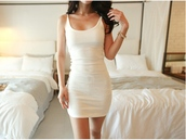 dress,white,fashion,style,basic,trendy,short dress,trendsgal.com,sexy,hot,party dress,girly,girl,girly wishlist,white dress,bodycon dress,bodycon,basic dress,mini,mini dress