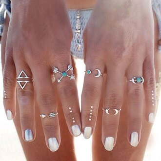 jewels gamiss bho boho summer chic trendy jewelry boho jewelry knuckle ring ring silver ring