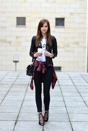 vogue haus,top,blouse,jeans,jacket,shoes,bag,jewels
