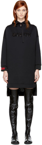 Fendi hoodie high embellished black sweater