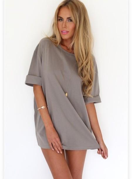 tank top t shirt dress