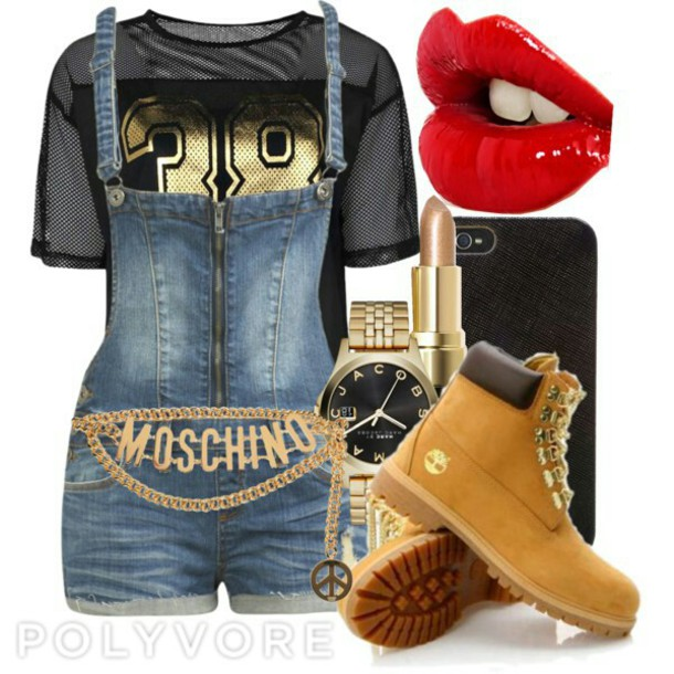 jumpsuit jersey timberland boots shoes moschino belt
