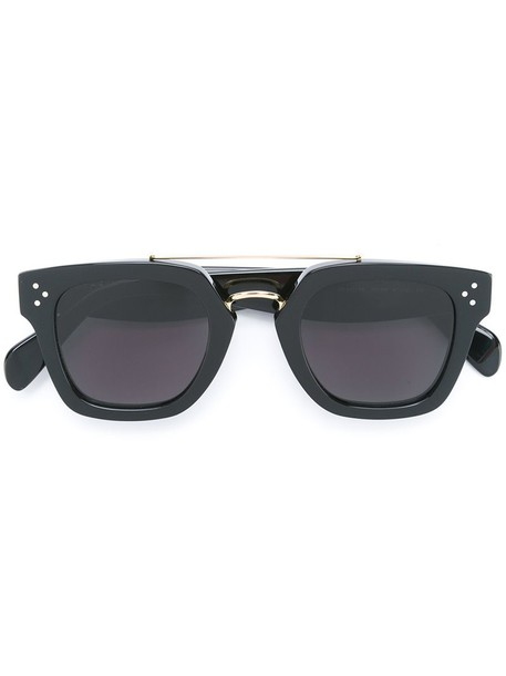 Céline Eyewear metal women sunglasses black