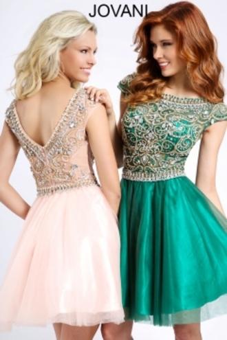 dress jovani prom dress green dress