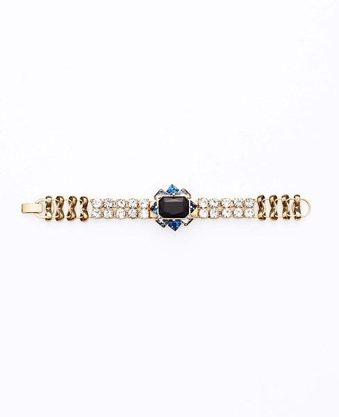 Midnight Frost Brooch Bracelet | Ann Taylor