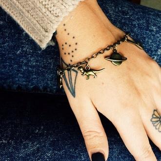 jewels space plants dinosaur bracelets