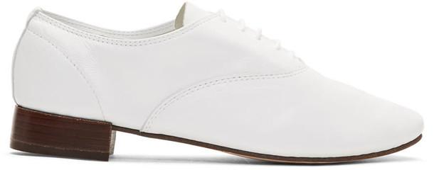 Repetto oxfords white shoes