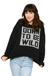 born to be wild,wild,born,be,chic,simplychic,black sweater,fall outfits,sweater,sweater weather