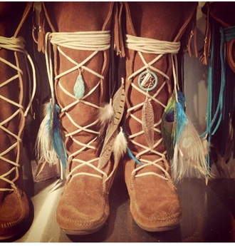 shoes indian boots native american tribal pattern boots