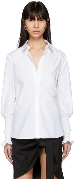 Altuzarra shirt white top