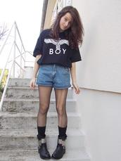 t-shirt,boy london,fruity happiness