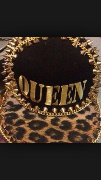 queen hat snapback