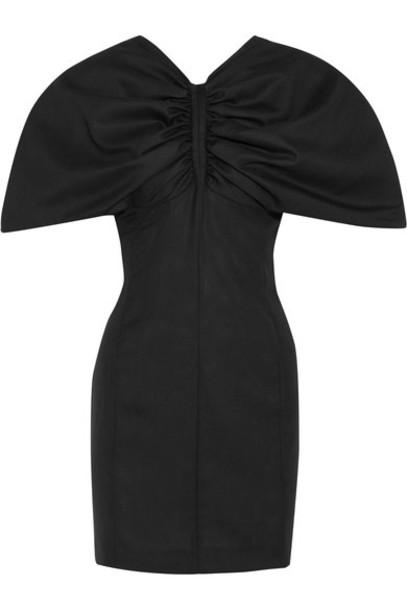 Jacquemus dress mini dress mini black wool