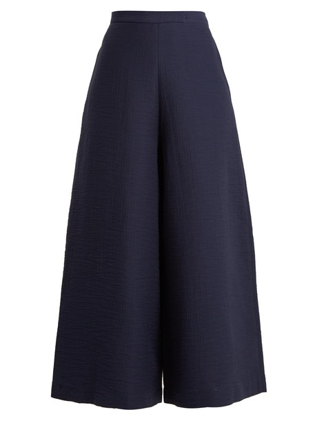 Rachel Comey cropped high navy pants