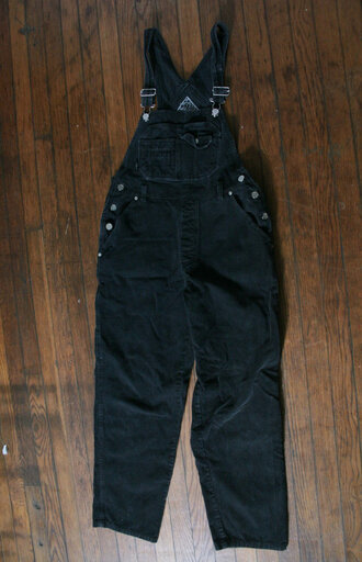 corduroy overalls 90s style jumpsuit grunge