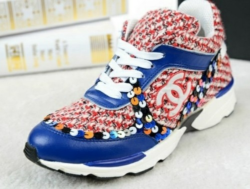 replica luxury shop                          - chanel leather red and blue