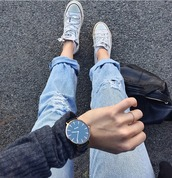 jewels,watch,guess,aesthetic,big watch,grunge,converse,cute,black,tumblr,accessories