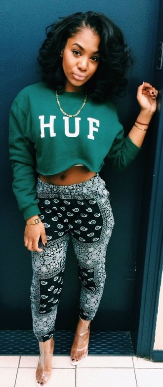 pattern high waisted colors chill pants high waisted pants printed pants