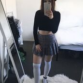 skirt,itgirl shop,kfashion,korean fashion,fashion,tumblr,southkorean,ulzzang,streetstyle,aesthetic,clothes,apparel,kawaii,cute,women,indie,grunge,pastel,kawaiifashion,pale,style,online,kawaiishop,freeshipping,free,shipping,worldwide,palegoth,soft grunge,softgoth,minimalist,inspiration,outfit,itgirlclothing,pleated skirt,plaid skirt,high waist skirt,school uniform,school skirt