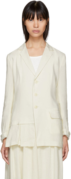 Ys blazer soft white jacket