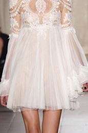 dress,white,fashion,cute,love,perfect,ruffle,lace,white lace