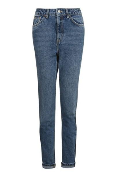 jeans mom jeans dark blue