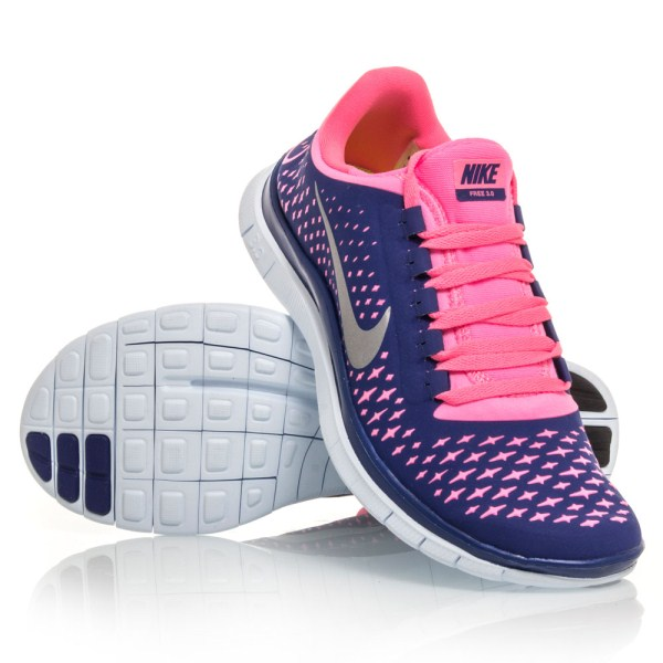 cheap for discount 97467 9f3d7 pink nike free runs 3.0