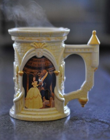 disney beauty and the beast bag mug