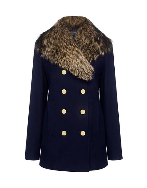 theory fur coat