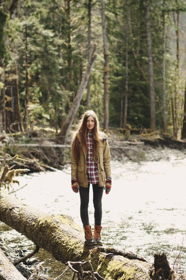 shoes wellies fall outfits flannel shirt