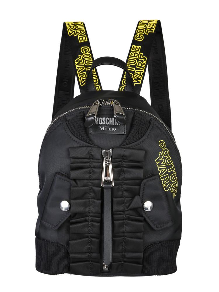 Moschino Couture Cordura nylon backpack