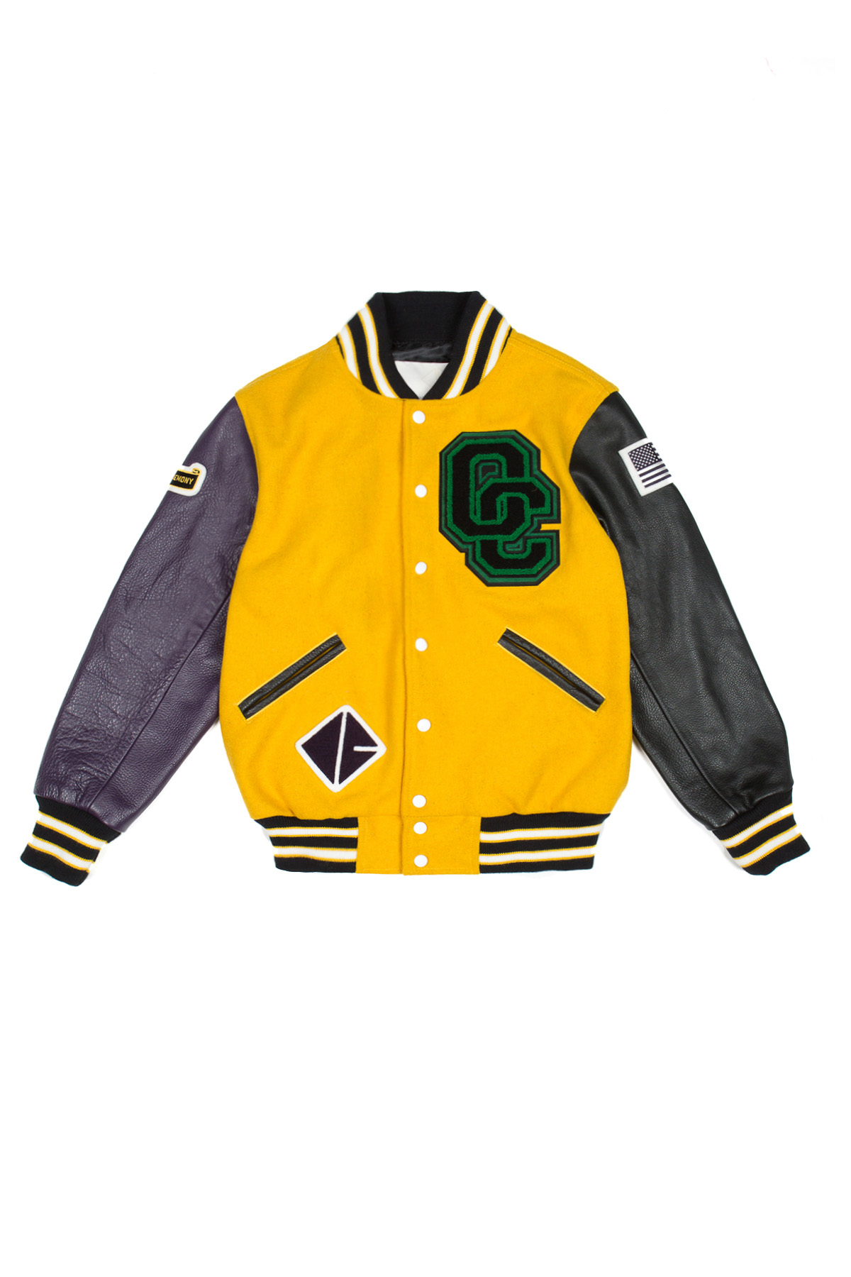 OPENING CEREMONY OC EXCLUSIVE VARSITY JACKET - WOMEN - OPENING CEREMONY - OPENING CEREMONY