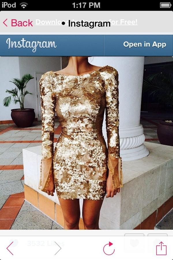 dress prom dress sequin dress sparkle glitter sleeveless short short prom dress gold sequins