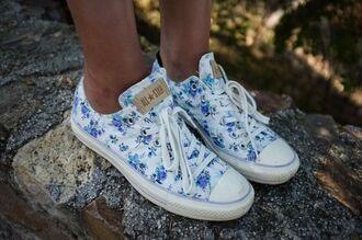 shoes converse liberty flower floral print floral converse