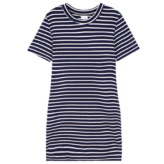 Stripes dress – holypink