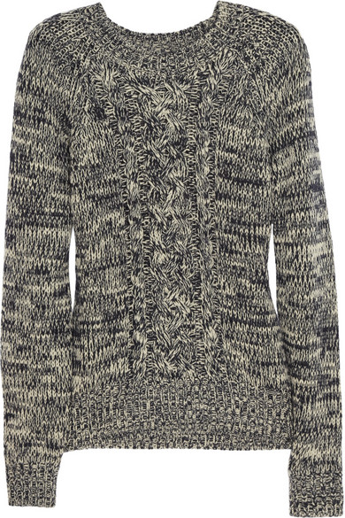 Étoile Isabel Marant | Delta cable-knit wool sweater | NET-A-PORTER.COM