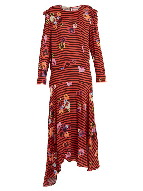 Preen Line dress print red