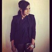 top,twisted top,draped top,black top,black