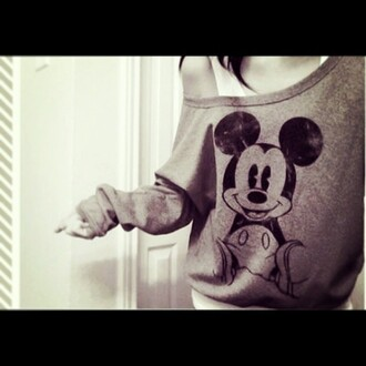sweater mickey mouse mickey mouse sweater shirt
