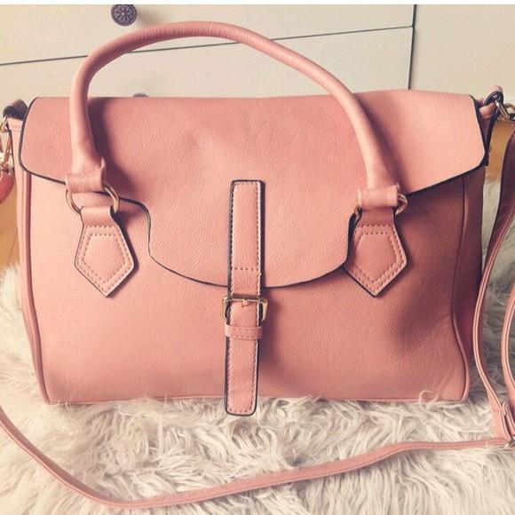 bag pink bag blogger